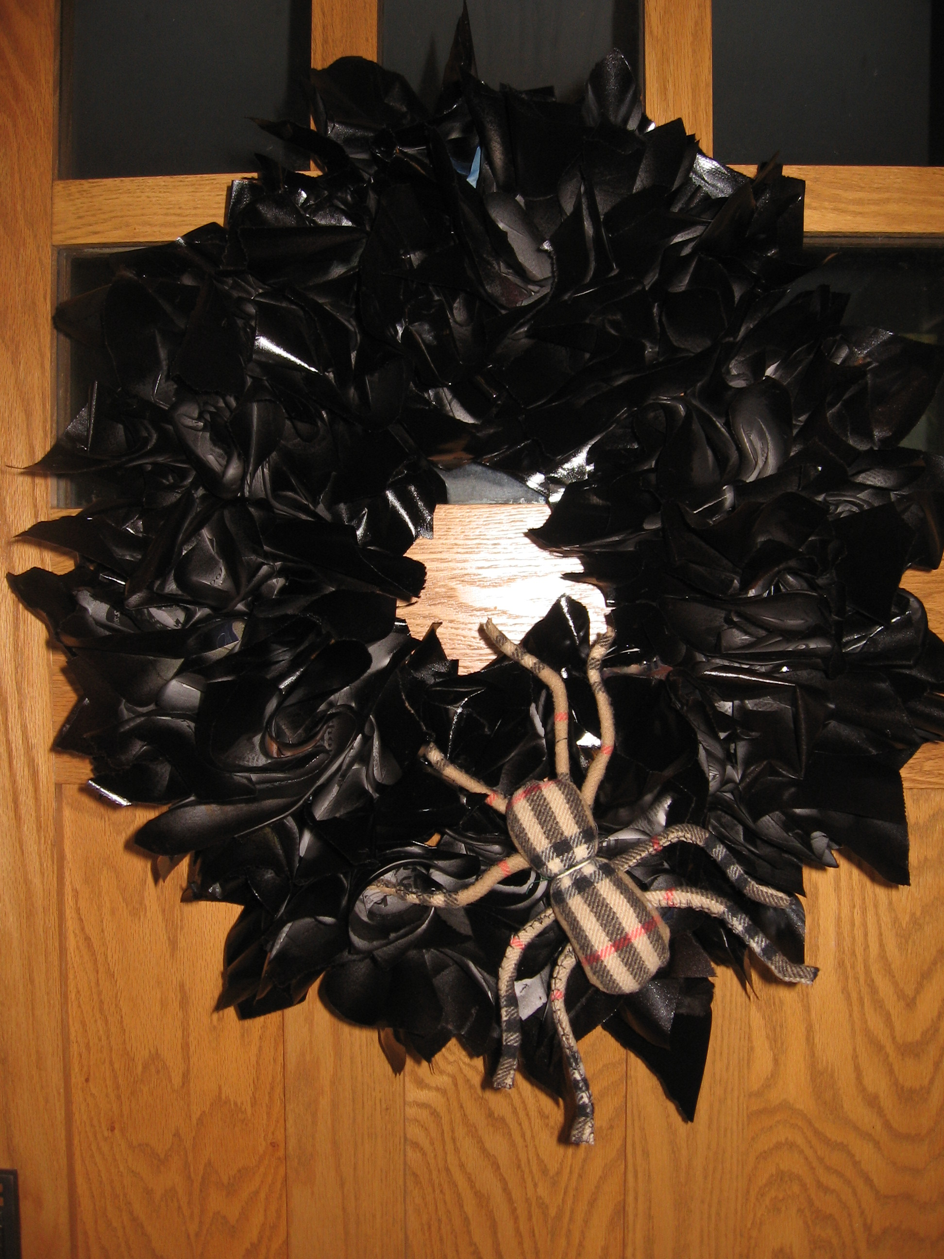 A Spider in Our Wreath