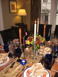 2010 Thanksgiving Table