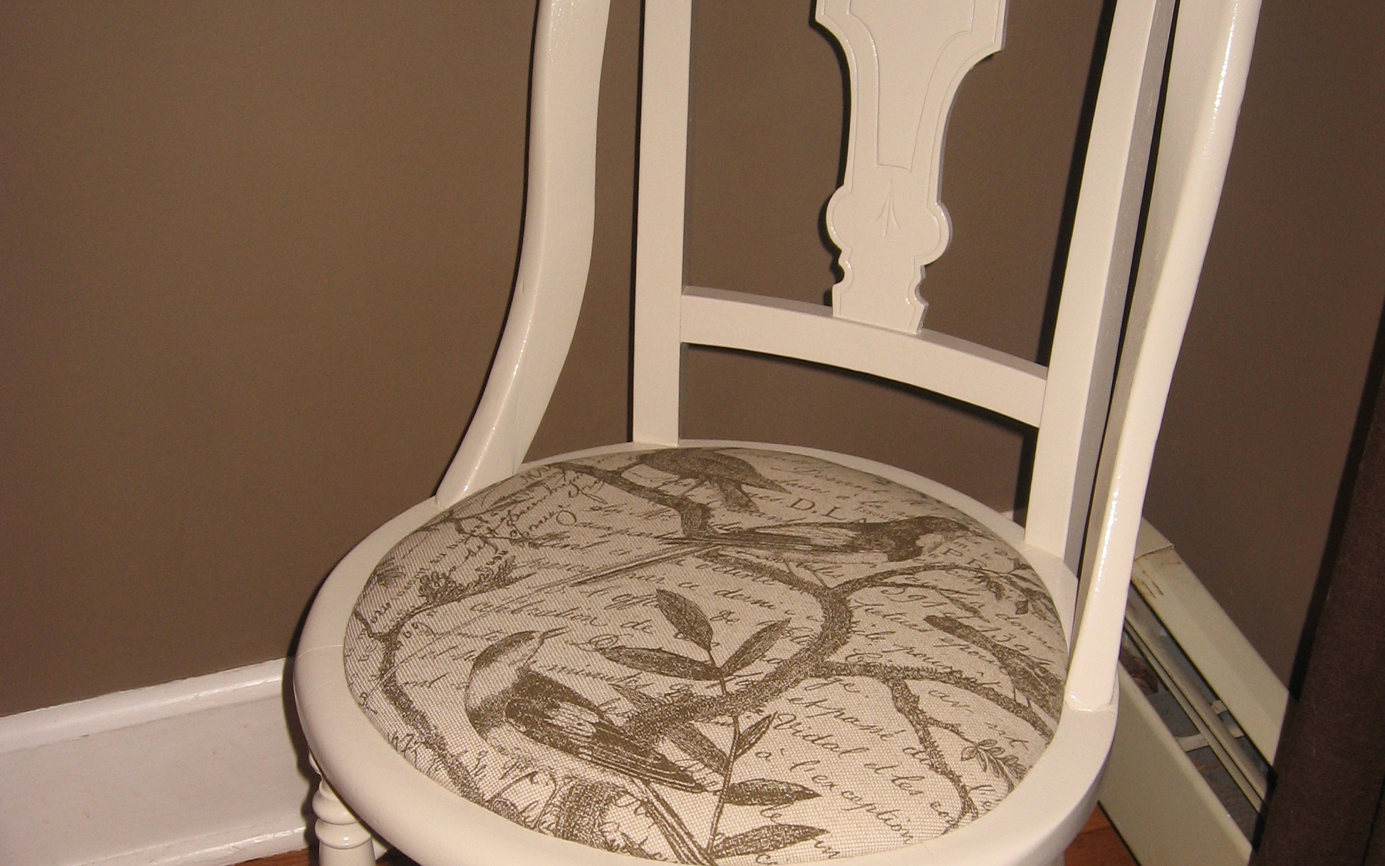 our crafty home bedroom accent chair