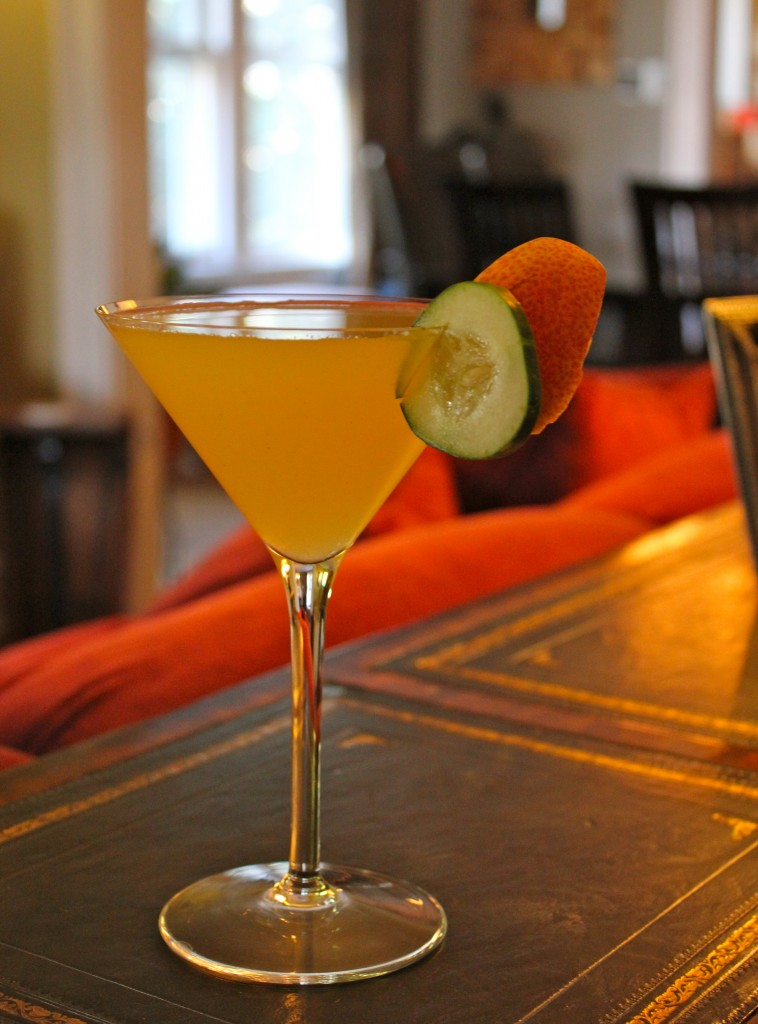 Cucumber Pear Martini