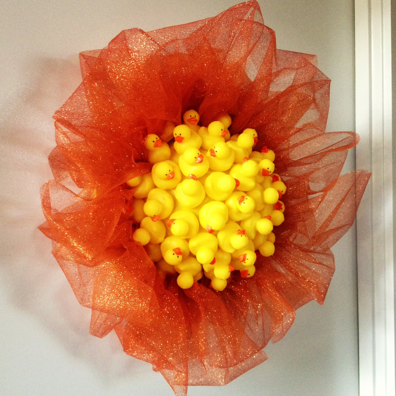 Rubber Ducky Wreath